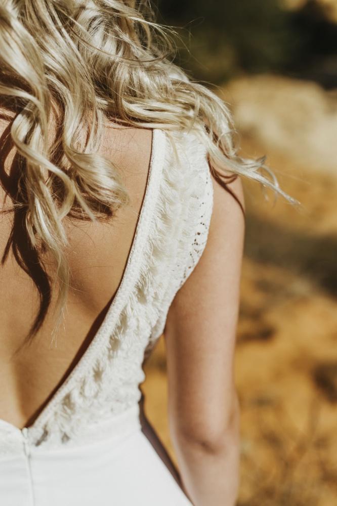 Collection 2018 : Robe de mariée dos nu