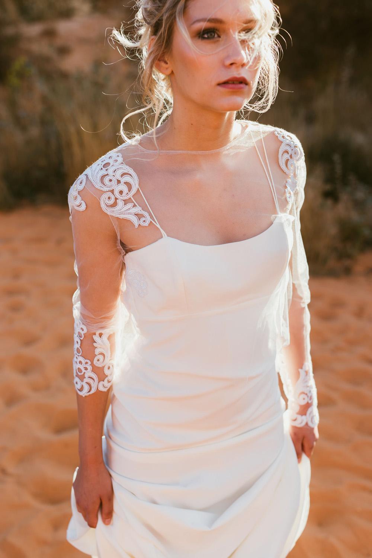 Collection 2018 : Robe de mariée en coton