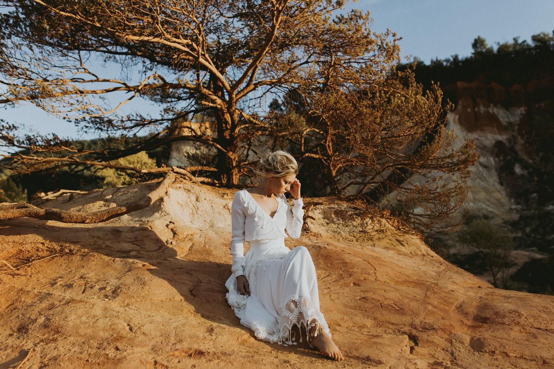 Collection 2018 : Folk Wedding dress