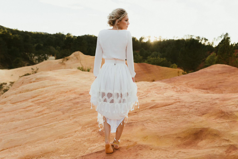 Collection 2018 : Robe de mariée ajourée
