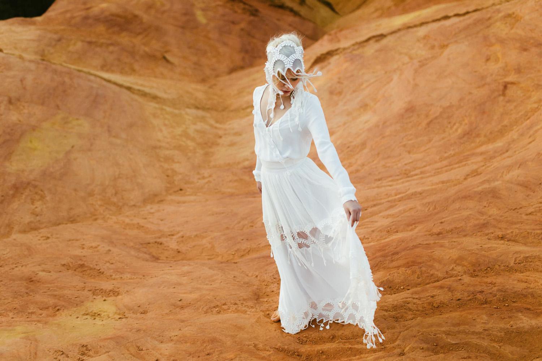 Collection 2018 : Robe de mariée manches longues
