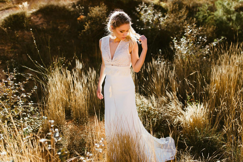 Collection 2018 : Robe de mariée nuance de off white