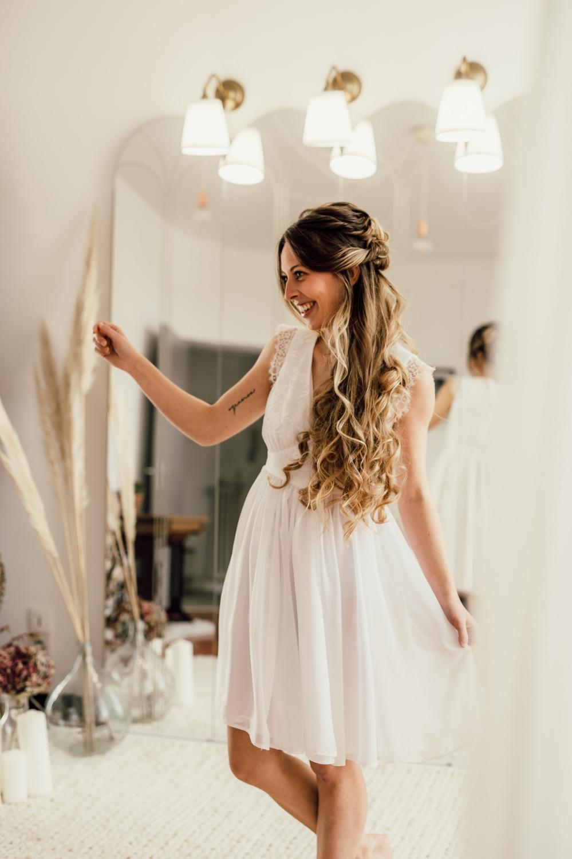 Collection civile : Robe de mariée vaporeuse