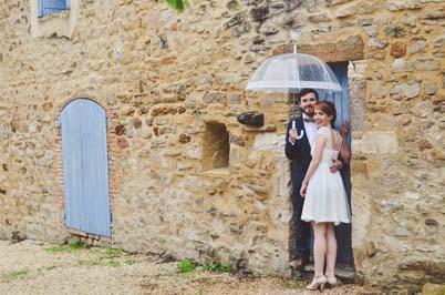 Robe de mariée courte et citadine