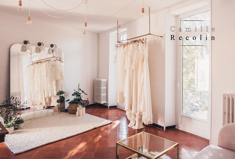 Showroom Atelier Camille RECOLIN : 29 Bis Avenue Jean Jaurès 30900 Nimes – FRANCE