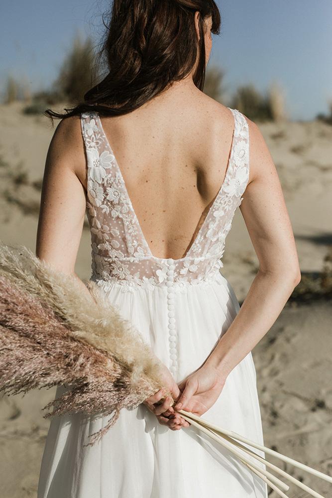 Collection 2019 : Robe de mariée bohème